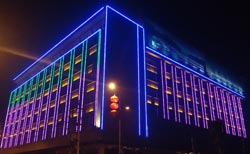 LED Facade Lighting for Building & SHI-Sultan Hareb International